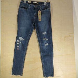 NWT Girls Levis 535 Super Skinny Size 12 Short